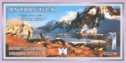 ANTARCTICA   1 Dollar   22/4/1999   D. John Hamilton -  Peterman Island   UNC - Non Classés