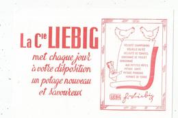 Buvard , LA COMPAGNIE LIEBIG , Menu - Unclassified