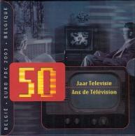 BELGIQUE      FDC   2003      (50 Ans De Télévision) - Bélgica