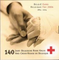 BELGIQUE      FDC   2004      (140 Ans   CROIX - ROUGE De BELGIQUE) - Bélgica