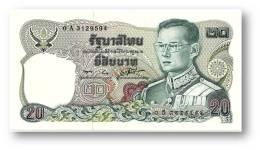 THAILAND - 20 Baht - ND ( 1981 ) - Pick 88 - UNC. - Sign. 56 - Serie 0 A - King Rama IX - 2 Scans - Thaïlande