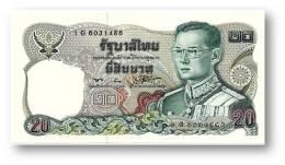 THAILAND - 20 Baht - ND ( 1981 ) - Pick 88 - Sign. 56 - Serie 1 G - King Rama IX - 2 Scans - Tailandia