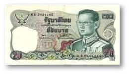THAILAND - 20 Baht - ND ( 1981 ) - Pick 88 - Sign. 56 - Serie 6 H - King Rama IX - 2 Scans - Thaïlande