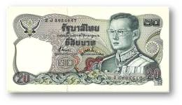 THAILAND - 20 Baht - ND ( 1981 ) - Pick 88 - Sign. 72 - Serie 2 J - King Rama IX - 2 Scans - Thailand