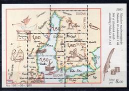 FINLANDE  Timbres Neufs ** De1985  ( Ref 4515 ) Cartographie