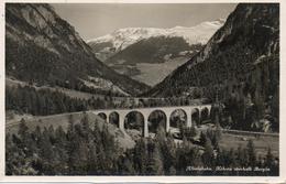 ALBULABAHN /Schweiz - Kehren Oberhalb Bergün