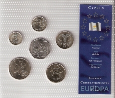CHYPRE      BLISTER      6 PIECES      2001 - 02 - 03      UNC - Cyprus