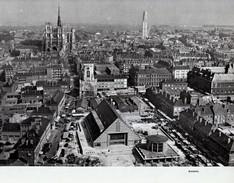 1958 - Héliogravure - Amiens (Somme) - Vue Aérienne - FRANCO DE PORT - Vieux Papiers