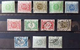 Belgique - België - Taxe Mh* & (O) - état TB - 1 Scan (s) E6269