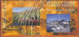 France 2008 - Bloc Souvenir (sous Blister) - France - Canada (Fondation De Québec) - Souvenir Blocks & Sheetlets