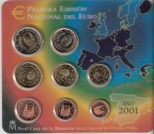 ESPAGNE      SOUS  BLISTER      2001 - España