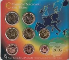 ESPAGNE      SOUS  BLISTER      2003 - España