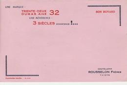 - 63 - BUVARD PUBLICITAIRE Coutellerie ROUSSELON à THIERS - 002 - Vloeipapier