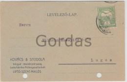 Slovakia - Liptovsky Mikulas - Advertising - Kpvacs & Stodola - Pubblicitari