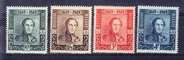 BELGIQUE COB 807/10 ** (MNH)  . (3T482) - Unused Stamps