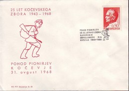 SLOVENIA - KOČEVSKI ZBOR - PARTISANS - WW2 - KOCEVJE - 1968 - Slovénie