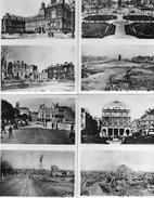 8 CPA - LE HAVRE (76)   AVANT Et APRES La GUERRE -  BOMBARDEMENTS  1939 - 1945 - Other