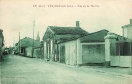 Dep - 17 - VERINES Rue De La Mairie - France
