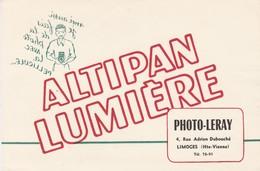 - 87 -  BUVARD PUBLICITAIRE   PHOTO-LERAY  à LIMOGES  - 013 - P