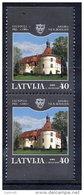 LATVIA 2004 Jaunpils Castle Booklet Pair MNH / **.  Michel 622 Do-u - Latvia
