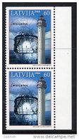 LATVIA 2004 Mikelbaka Lighthouse Booklet Pair  MNH / **.  Michel 621 Do-u - Latvia