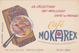 - 93 -  BUVARD PUBLICITAIRE   MOKAREX à EPINAY-SUR-SEINE - 017 - Buvards, Protège-cahiers Illustrés