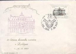 SLOVENIA - SLOVENIAN UNIVERSITY -  LJUBLJANA - 1969 - Eslovenia
