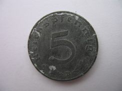 5 REICHSPFENNIG - 5 Reichspfennig