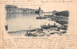COLLIOURE  -  Vue Prise Du Faubourg Tout Debut 1900 - Collioure
