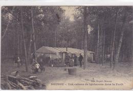 Cpa-91-brunoy -animée-cabane De Bucherons-edi Hapart - Brunoy