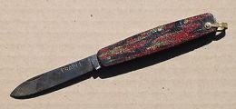 Ancien Couteau Pliant D'écolier Marqué PRADEL - Autres Collections