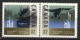 Canada 1988 Wildlife And Habitat Conservation (2v) MNH (M-260)