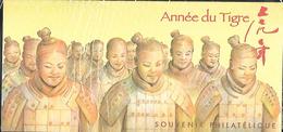 France 2010 - Bloc Souvenir N° 47 (sous Blister) - Année Du Tigre - Souvenir Blocks & Sheetlets