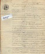 VP7783 - MAS D'AGENAIS - Acte De 1868 - Obligation Par MARLIAC De LAYRITS à CASTELS De LABASTIDE - Manuscripts