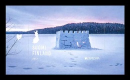 Finland 2017 Mih. 2489 Europa-Cept. Castles. Snow Castle MNH **