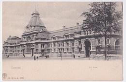Tournai  Cpa  La Gare - Tournai