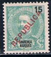 Lourenço Marques, 1917, # 147, MH - Lourenco Marques