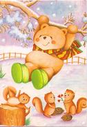 Fantasie - Beren - Ours - Bears - Eekhoorn - Ecureuil - Squirrel - Unclassified