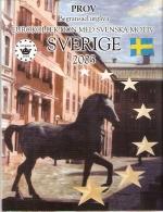SUEDE      ESSAIS -  PRIVES      2003 - EURO