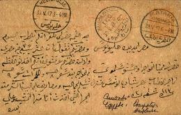EGYPTE - Entier Postal De Mataria Mansur En 1917 - A Voir - L 6141