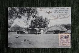 GEBA - Habitations Fulah - Guinea-Bissau