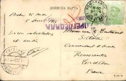 SERBIE - Carte Postale De Nisch En 1915 Pour La France - A Voir - L 6150 - Serbie