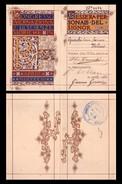 Tessera Personale - Congresso Internazionale Di Scienze Storiche In ROMA. Aprile MDCCCCIII (1903) - Old Paper