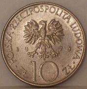 POLONIA - 10 Zloty 1975 - Polonia