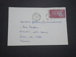 """GRANDE BRETAGNE - Oblitération """" Post Early In The Day """" Sur Découpe D 'entier Sur Enveloppe En 1963 - A Voir - L 6157 - 1952-.... (Elizabeth II)"""