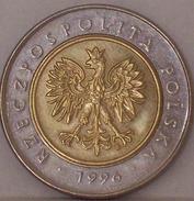 POLONIA - 5 Zloty 1996 - Polonia