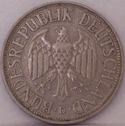 GERMANIA - 1 Marco 1956 - [ 6] 1949-1990 : RDA - Rep. Dem. Tedesca