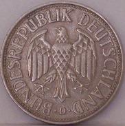 GERMANIA - 1 Marco 1957 - [ 6] 1949-1990 : RDA - Rep. Dem. Tedesca