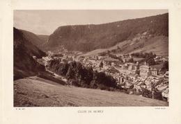 JURA, CLUSE DE MOREZ, Planche Densité = 200g, Format 20 X 29 Cm, (Braun) - Geographie