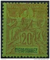 Diego Suarez (1893) N 44 * (charniere)